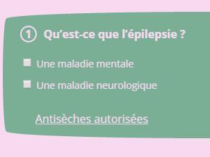 Que savez-vous de l'épilepsie ?