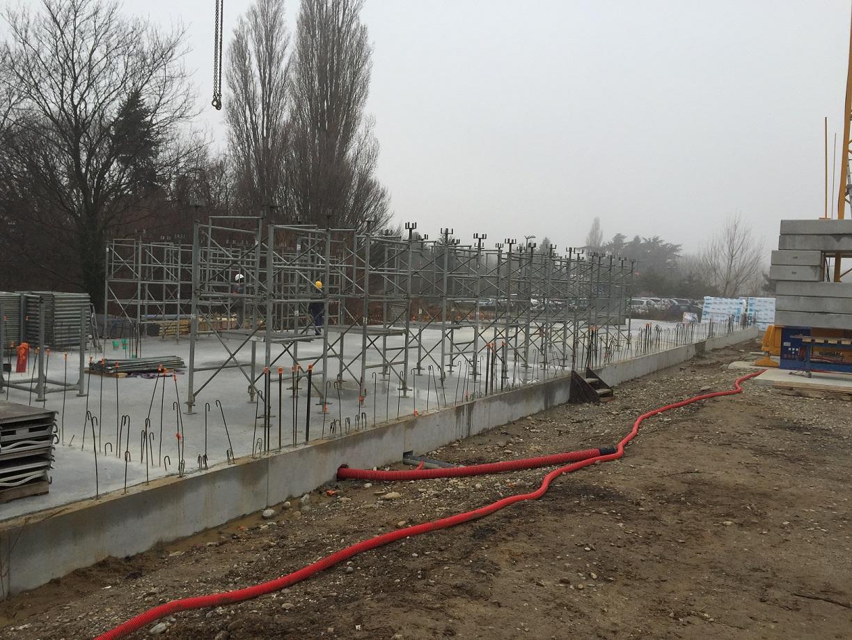 Suivez l'évolution du chantier de l'Institut