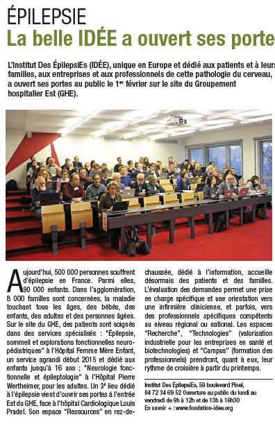 L'Institut IDÉE a ouvert ses portes le 1er février 2016 !
