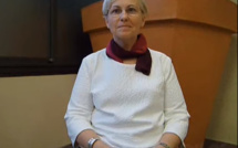 Véronique Laplane lors du Forum Emploi Handicap - nov. 2015